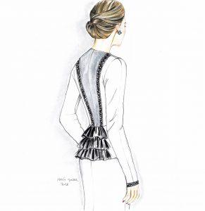 Illustration de l'un de nôtres tailleurs Cruz Costa
